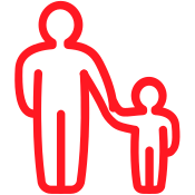 Moving with Children Icon